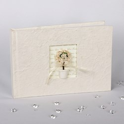Picture of Simply Roses Guest Book - Bay Tree Design
