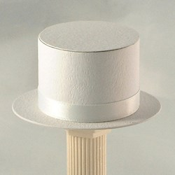 Picture of Top Hat in White