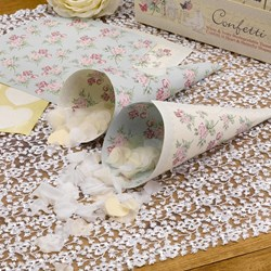 Picture of With Love - Confetti Cones