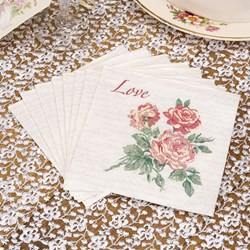 Picture of With Love - Cocktail Napkins
