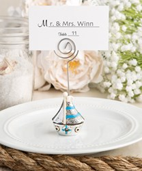 Picture of Sail Boat Place Card Holder