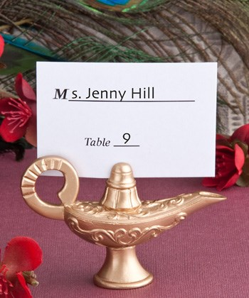 Picture of Aladdin's Lamp Place Card Holders