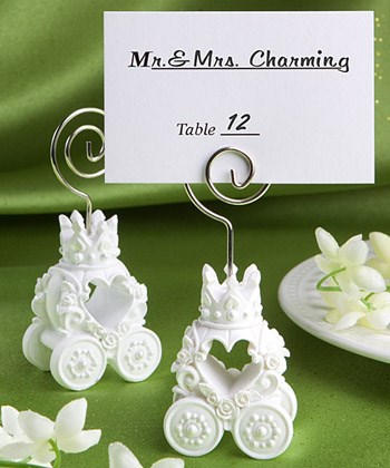 Picture of Royal Coach Design Place Card Holder Favour