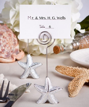 Picture of Shimmering Starfish Place Card Holder Favours