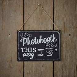 Picture of Photo Booth Sign