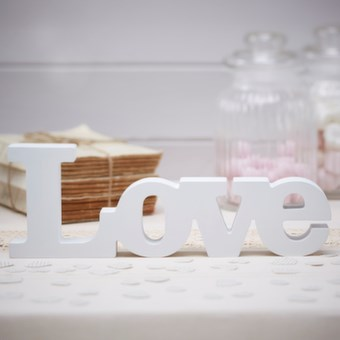 Picture of Wooden Love Sign