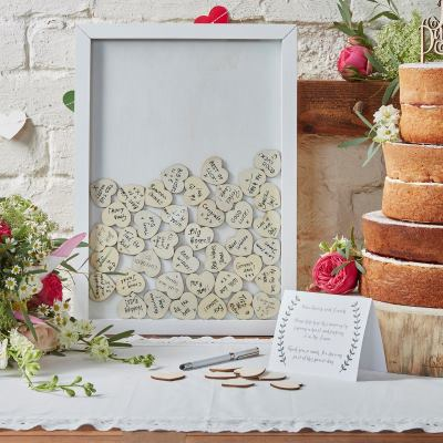 See our range of wedding guest books