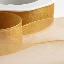 Picture of Organza Woven Edge Ribbon