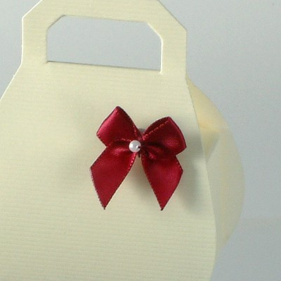 Picture of Satin Bow with Pearl