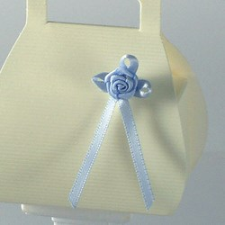 Picture of Satin Bow 3mm with Satin Rose
