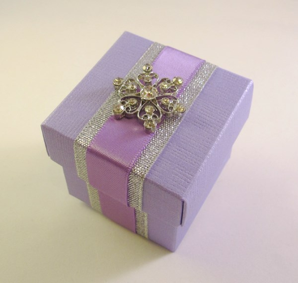Picture of Winter Snowflake Favour Box