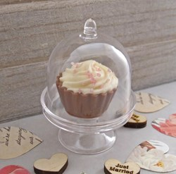 Picture of Cake Dome with Cupcake Chocolate Favours