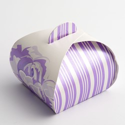 Picture of Lilac Rose Favour Box
