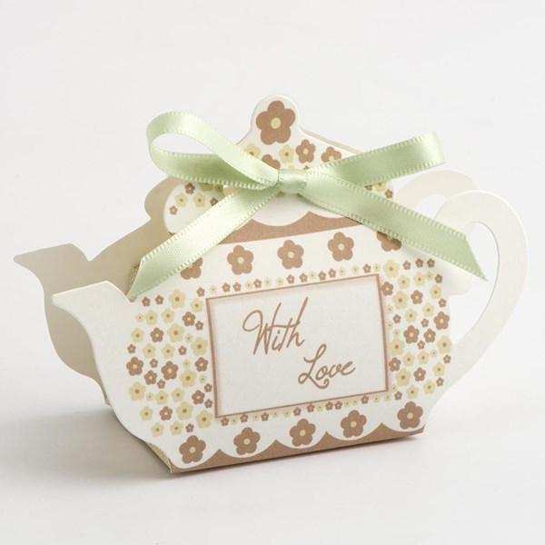 Picture of Tea Pot Favour Box