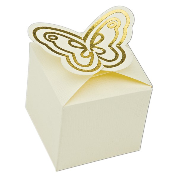 Picture of Butterfly Silk Favour Box