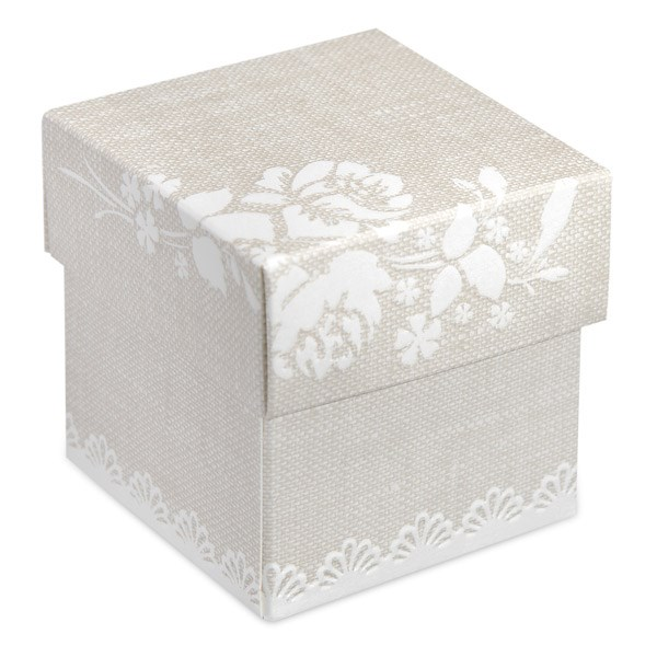 Picture of Rose Design Favour Box