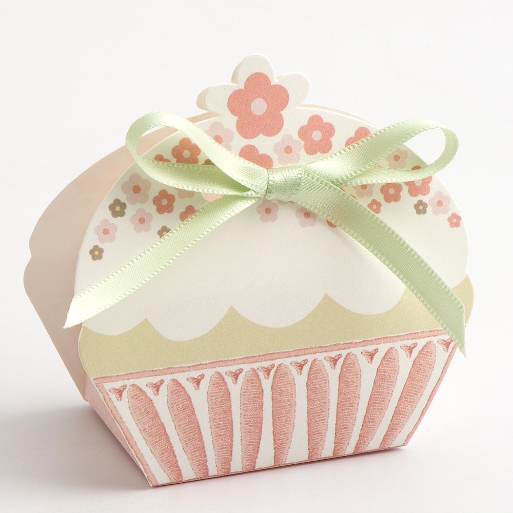 Cupcake Design Favour Box | UK Wedding Favours