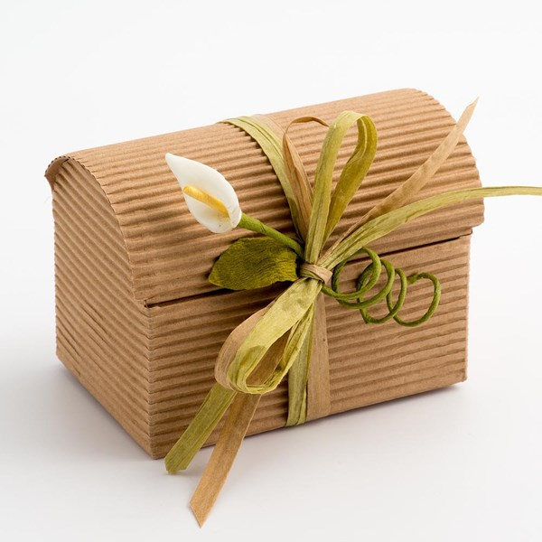 Picture of Kraft Favour Box