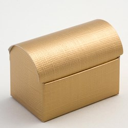 Picture of Gold Silk Favour Box