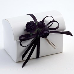 Picture of White Glossy Favour Box