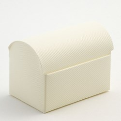 Picture of Ivory Scia Favour Box