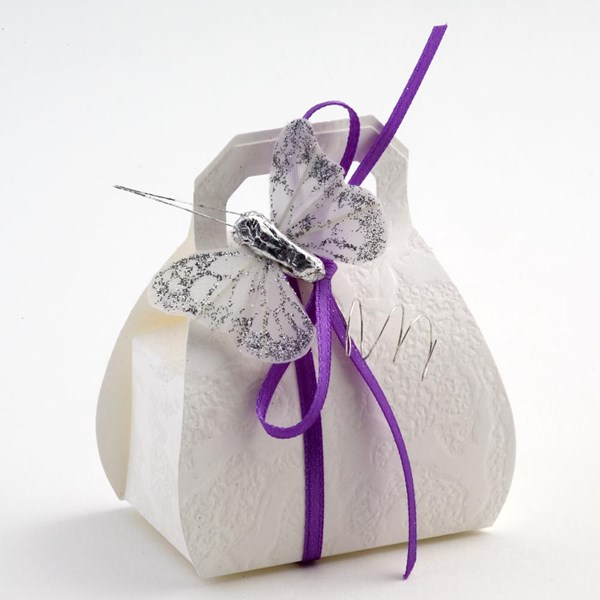 Picture of White Sorgente Favour Box
