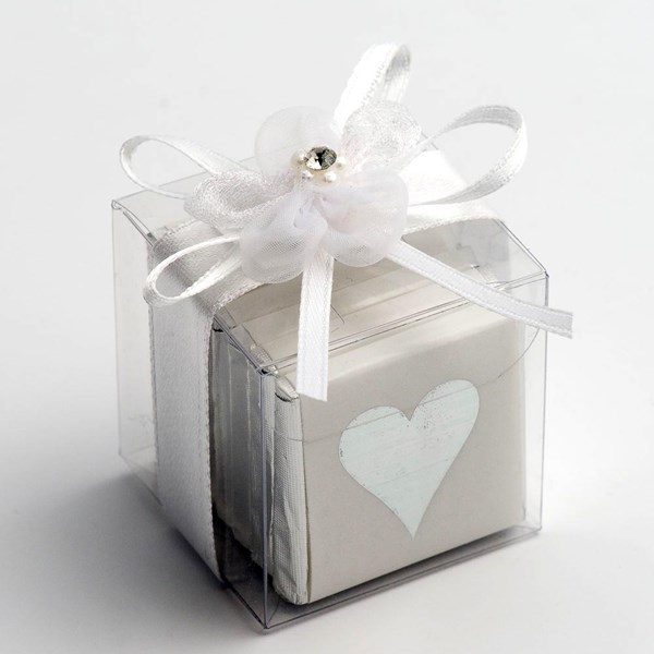 Picture of Clear Cube Favour Box