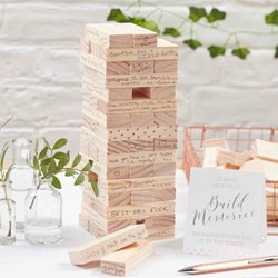 Picture of Build A Memory Building Blocks Guest Book