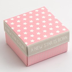 Picture of New Star Square Favour Box
