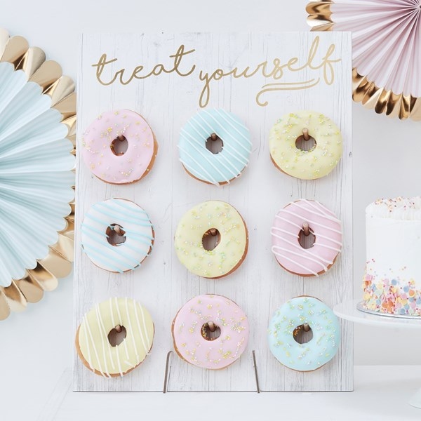 Picture of Treat Yourself Donut Wall