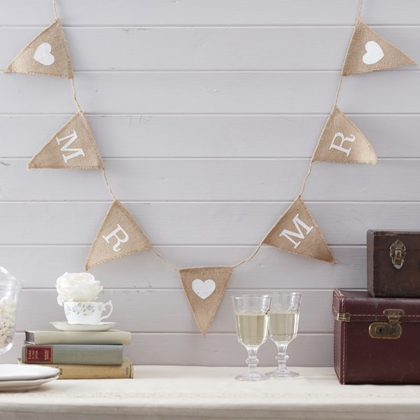Picture of Mr & Mr Hessian Bunting