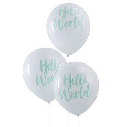 Picture of Balloons - Hello World