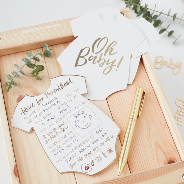 Picture of Baby Advice Cards - Oh Baby!