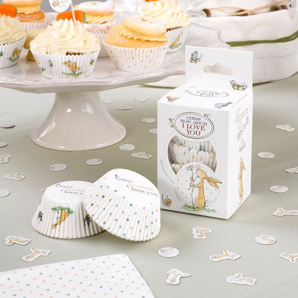 Picture of Cupcake Cases - Guess How Much I Love you