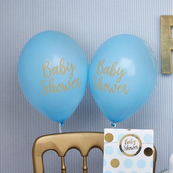 Picture of Blue Balloons - Baby Shower