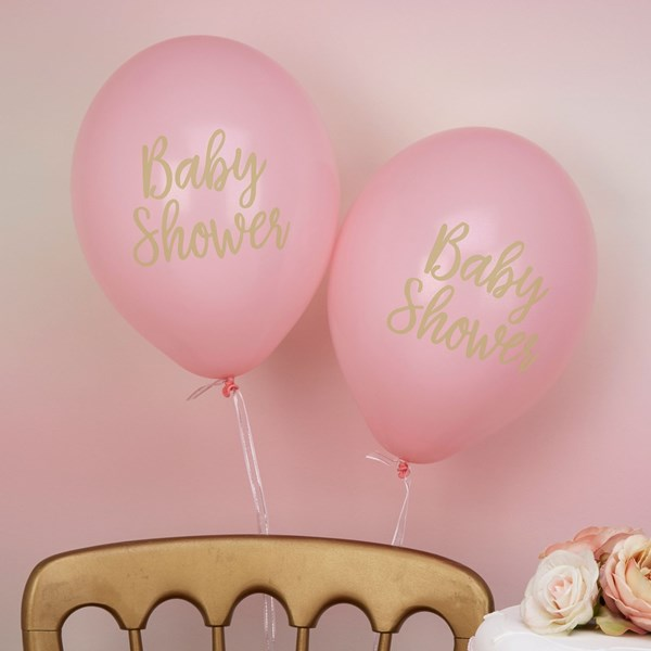 Picture of Pink Balloons - Baby Shower