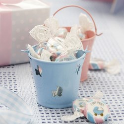 Picture of Pink & Blue Favour Pails