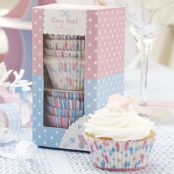 Picture of Cupcake Cases - Tiny Feet