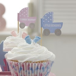 Picture of Cupcake Picks - Tiny Feet