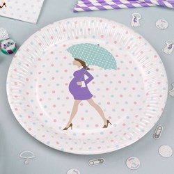 Picture of Paper Plates - Showered With Love