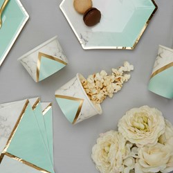 Picture of Treat Tub - Colour Block Marble - Mint