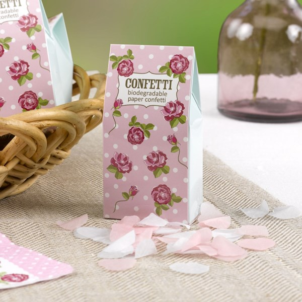 Picture of Tissue Paper Confetti - Vintage Rose