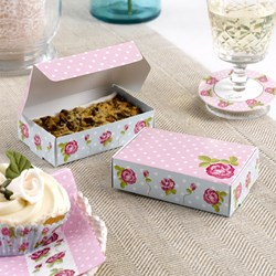 Picture of Cake Boxes - Vintage Rose