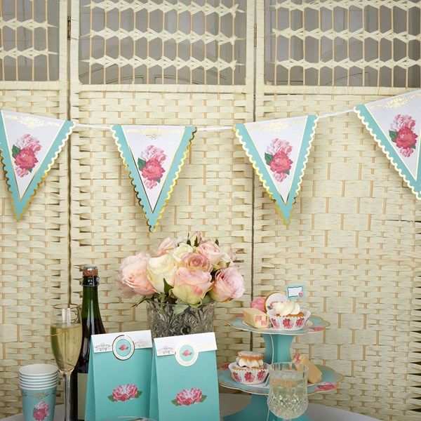 Picture of Paper Bunting - Eternal Rose