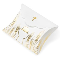 Picture of DIY Communion White & Gold Embossed Boxes