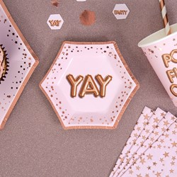 Picture of Small Paper Plates - YAY - Glitz & Glamour