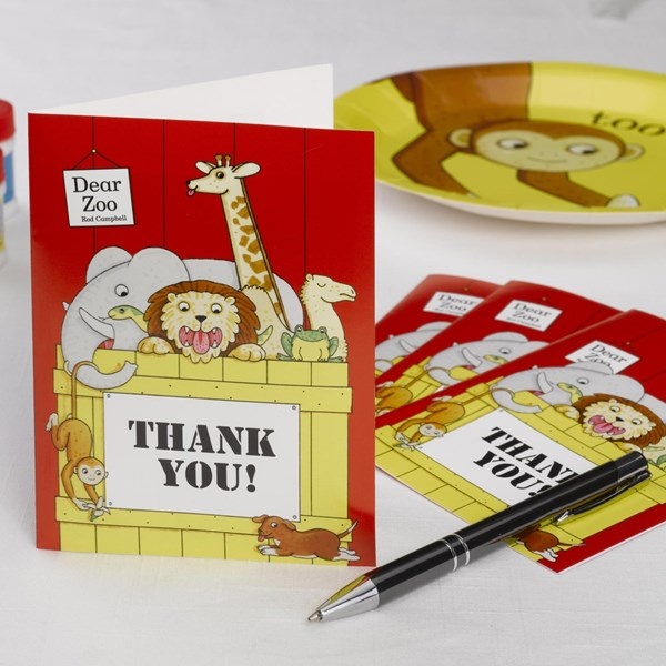 Picture of Thank You Cards - Dear Zoo