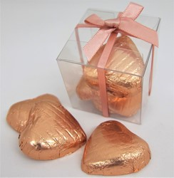 Picture of Chocolate Hearts Favour Box