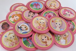 Picture of Princess Chocolate Coins