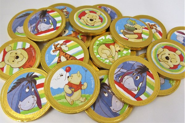 Picture of Winnie The Pooh Chocolate Coins